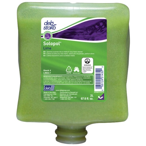 Handrengöring DEB SKIN CARE Solopol Lime